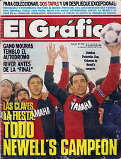 Soccer NEWELL'S OLD BOYS CLAUSURA CHAMPION 1992 - El Grafico magazine Argentina