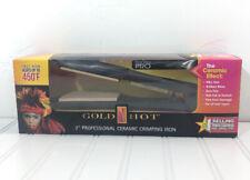 "Ceramic Crimping Iron Professional GOLD N HOT Pro 2"""