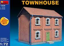 MiniArt Diorama Stadthaus Townhouse Zwei Stockwerke 1:72 Haus Modell-Bausatz kit