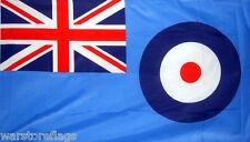 """RAF ENSIGN FLAG 18""""X12"""" ROYAL AIR FORCE R.A.F. MILITARY BRITAIN BRITISH FLAGS"""