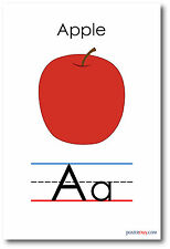 New Language Arts Poster - The Letter A - Alphabet Poster