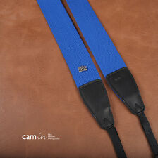 Royal Blue Adjustable Non-slip Cam-in DSLR Camera Strap CAM1208A UK Stock
