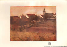 1902 STUDIO PRINT ~ THE ORCHARD by MANUEL ROBBE