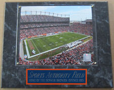 SPORTS AUTHORITY FIELD DENVER BRONCOS FRAMED 8X10 PHOTO-MAN CAVE-12X15 PLAQUE