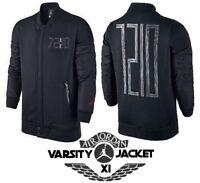 2b0332db5e18c7 NIKE Air Jordan Jumpman XI Varsity Jacket Black Men s Large (L) New with  Tags