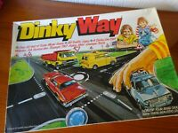 DINKY WAY - Vintage Road Play Set - NEVER USED - ORIGINAL - VERY RARE from 1978.