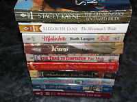 Harlequin Western historical lot of 10 assorted authors romance paperbacks