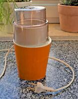 Vintage Moulinex  Kaffeemühle Typ 299.2.00, 70er Jahre, orange