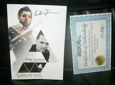 Deus Ex Mankind Divided Actor Elias Toufexis Signed Print with COA 5x7