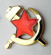 Russia Hammer Sickle Russian Soviet Cccp Lapel Pin Badge 1 Inch