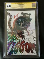 TIGGOMVERSE  #1, Signed by Mychaels, Crystal Variant only 10 made! , CGC 9.8 SS