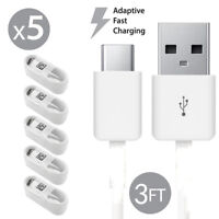 5x Original Samsung Galaxy S8 S9+ Note 8 A5 A7 2017 Fast Charge USB Type-C Cable