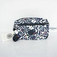 NWT Kipling AC8278 Amalfi Toiletry Bag Cosmetic Case Nylon Floral Flourish Multi