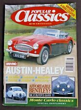 Popular Classics, May 1993, Austin Healey, Monte Carlo Classics. + cards
