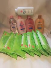 5pc Johnson & Johnson Baby Full Sized Starter kit & much much more - Free Ship