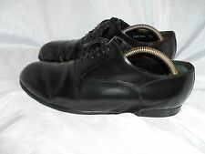 DOLCE AND GABBGANA MEN'S BLACK LEATHER LACE UP SHOES SIZE UK 7.5 EU 41.5 VGC