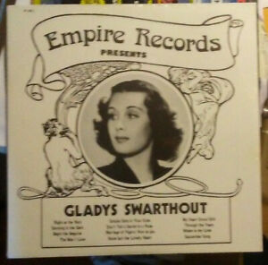 Empire Records presents Gladys Swarthout - LP Empire 805