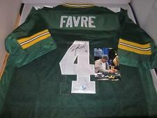 Brett Favre signed Green Bay Packers jersey w/signing photo - Fanatics Authentic