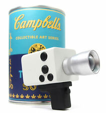 """Kidrobot ANDY WARHOL CAMPBELL'S SOUP CAN SERIES - VINYL CAMCORDER 3"""" Mini Figure"""