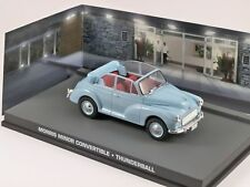 MORRIS MINOR CONVERTIBLE THUNDERBALL JAMES BOND 007 1/43 UNIVERSAL HOBBIES