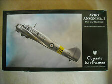Classic Airframes 1/48 -AVRO ANSON MK.I (POST WAR MARKINGS)