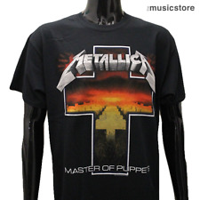 Official METALLICA T Shirt Master of Puppets Cross New Black Size S M L XL XXL