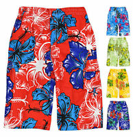 Boys Bermuda Surf Shorts Kids Swimming Trunks New Age 2 3 4 6 7 8 9 10 12 Years