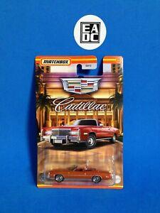 2021 MATCHBOX 1975 CADILLAC ELDORADO CONVERTIBLE 3/12 LIMITED EDITION EADC