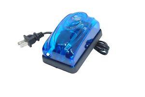 Air pump for Aquarium & Hydroponics,1 Outlet,57 GPH, 216 L/H, 3 Watt, Adjustable