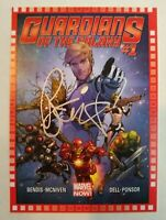 2014 Marvel NOW! #123 (Guardians of the Galaxy #1) Brian Michael Bendis Auto !