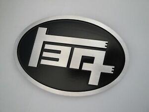 TOYOTA TEQ EMBLEM JAPANESE BADGE MACHINE FINISHED METAL BLACK CAMRY 4RUNNER ETC