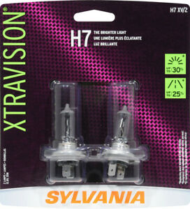 Headlight Bulb-XtraVision - Twin Pack Sylvania H7XV BP Two,  NIP
