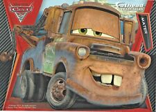 TOW MATER DISNEY PIXAR CARS 2 FATHEAD TRADEABLES REMOVABLE STICKER 2011