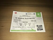 Sammler Ticket VfL Wolfsburg - FC Bayern München 17.02.18 FCB