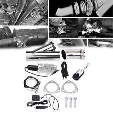 Sistema de corte de silenciador de válvula escape control remoto eléctrico 3 ''