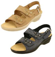 Buckle Wide (E) Low Heel (0.5-1.5 in.) Sandals for Women