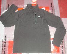 New The North Face Mens 1/4 Zip Fleece Pullover Jacket $120 Size Medium Black