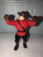 WWF WWE Hasbro The Mountie Series 5 1993 Wrestling Action Figure Retro Vtg 90s
