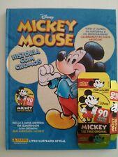 Mickey Mouse Sticker Story - Album brasilianische Version - HC Hardcover - Leer