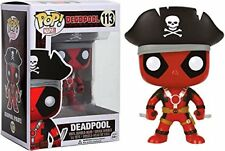 Deadpool Pop! Funko Vinyl Figure #113 Marvel Pop! Pirate Bobblehead