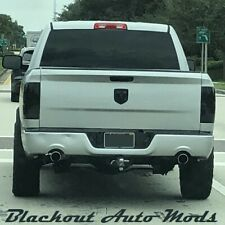 09-19 Dodge Ram Tail Light Blackout Kit Precut Tint Smoked Vinyl Overlay Covers