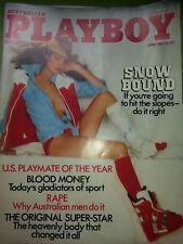 Australian Playboy Magazine - June 1981