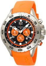 Nautica Men's Orange Resin Chronograph Watch N14538G