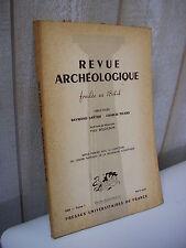 REVUE ARCHEOLOGIQUE 1962 avril-juin triomphe bacchique de Saint-Irénée ...