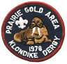 Vintage BSA Prairie Gold Area 1978 Klondike Derby Patch Badge