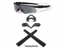 Galaxy Nose Pads + Earsocks For Oakley Si Ballistic M Frame 2.0 Z87 Black