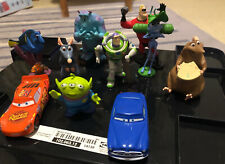 Disney Pixar Figurines -10 Including Buzz, Remi, Sully, Mr Incredible & More