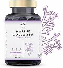 Collagène Marin et Acide Hyaluronique Magnésium Vitamine C Articulations Peau Os