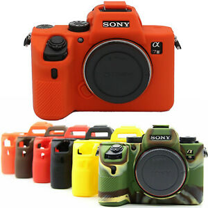 New Silicone Case Body Cover Skin Protector Bag For Sony A7III A7RIII A7R4 A7R3
