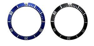 BLUE / BLACK BEZEL INSERT FOR OMEGA SEAMASTER WATCH UK